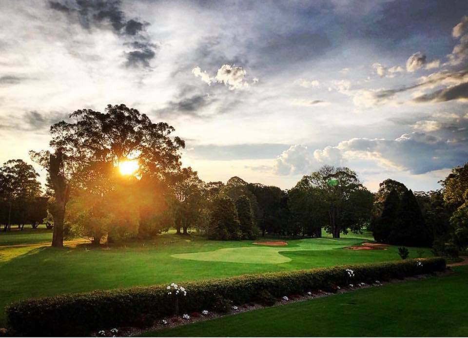 Awesome shot of Toowoomba Golf Club course
