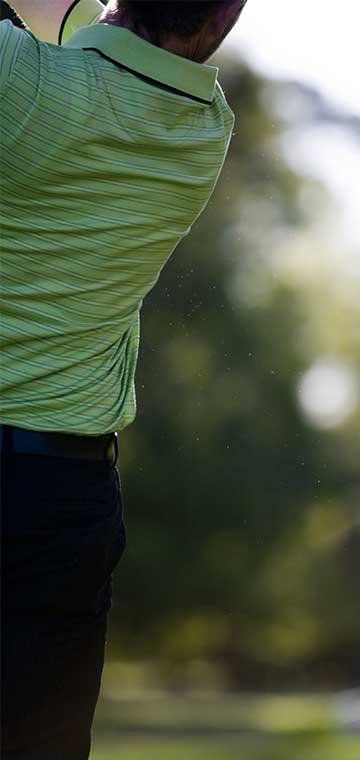 Golfer strikes at Toowoomba Golf Club